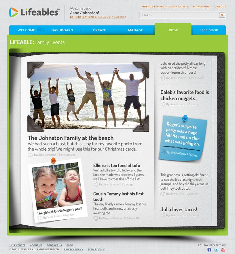 Lifeables Cover