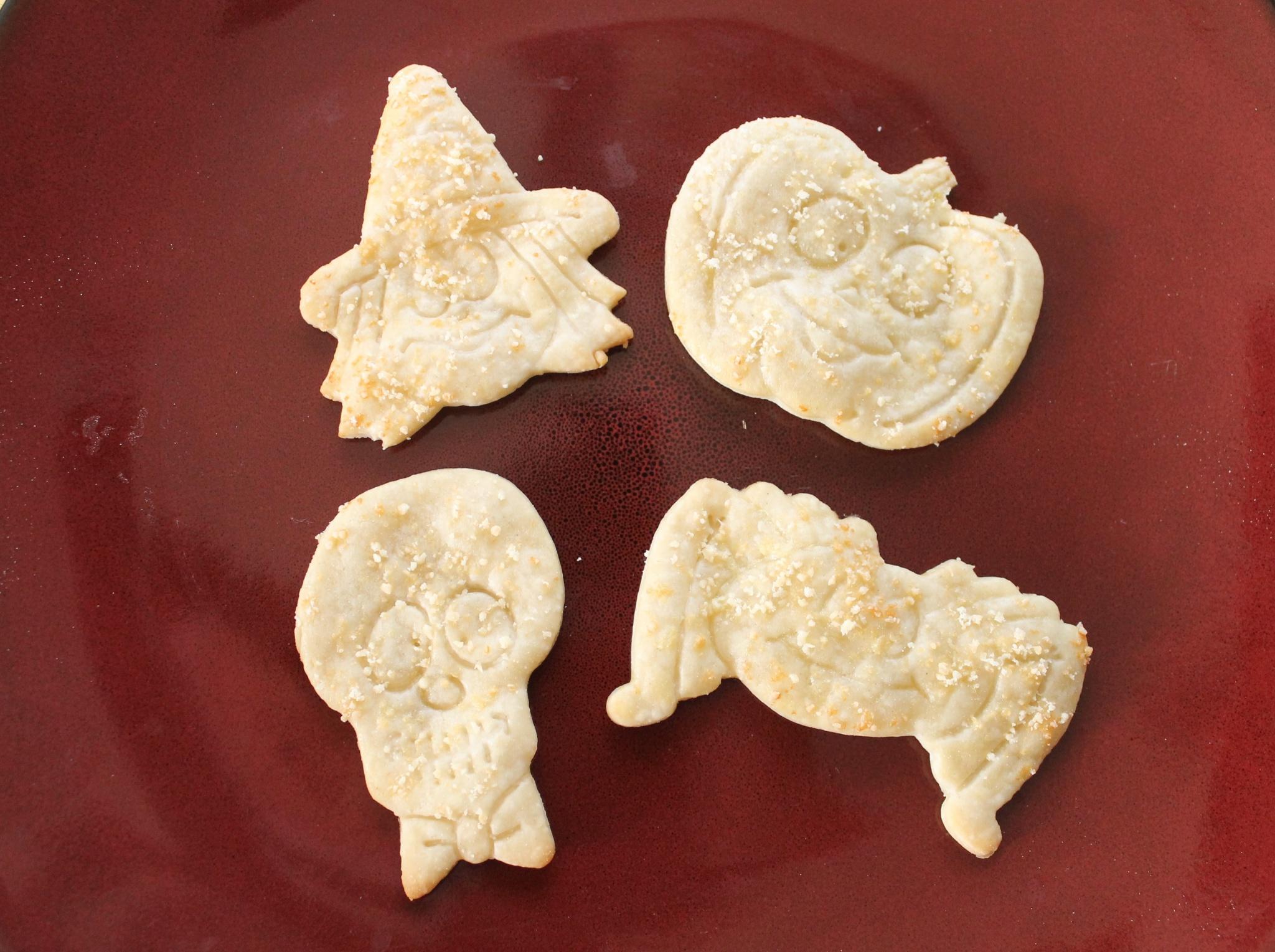 Halloween snacks crackers easy salty cheese