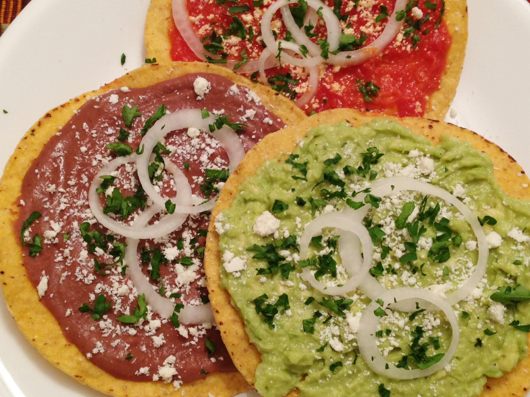 Tostadas recetas guatemala