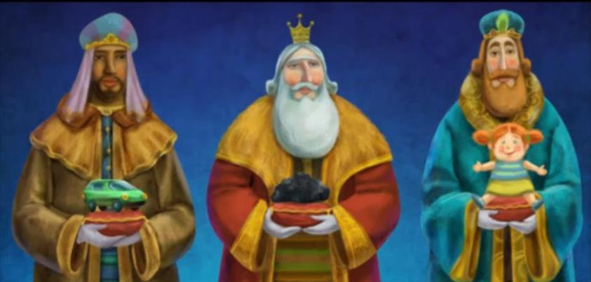 Reyes Magos Three Wise Men