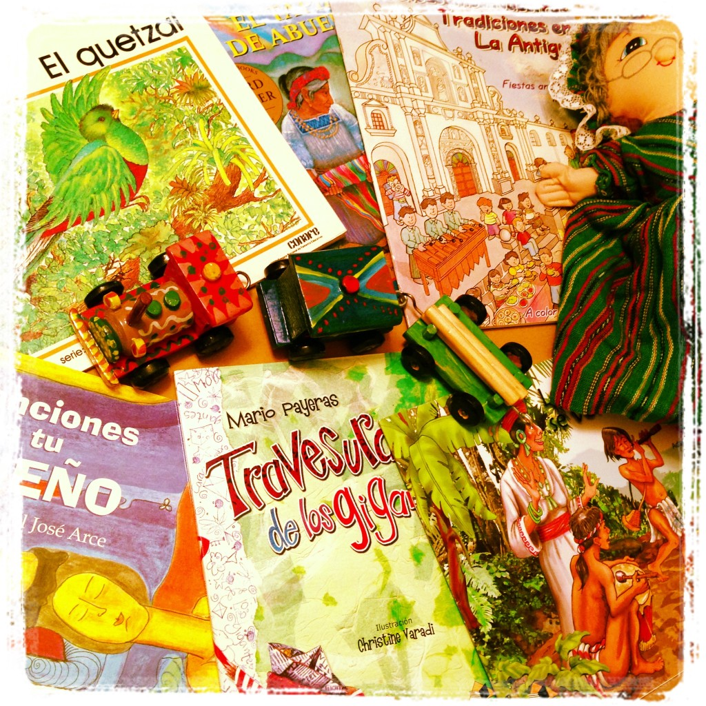 Toys and Children's Books from Guatemala