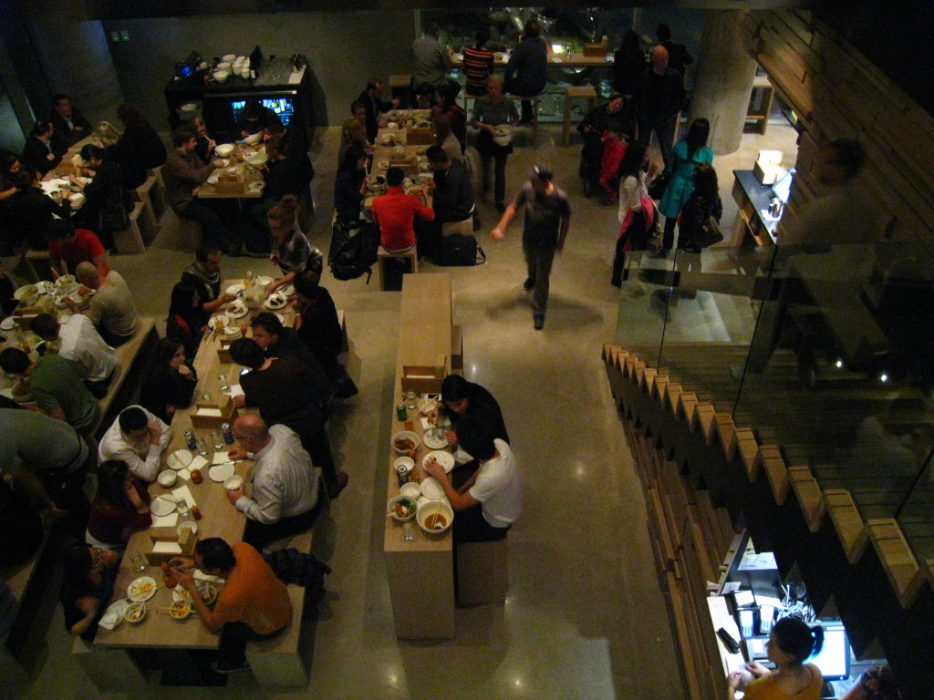 Momofuku Noodle Bar restaurant in Manhattan NYC