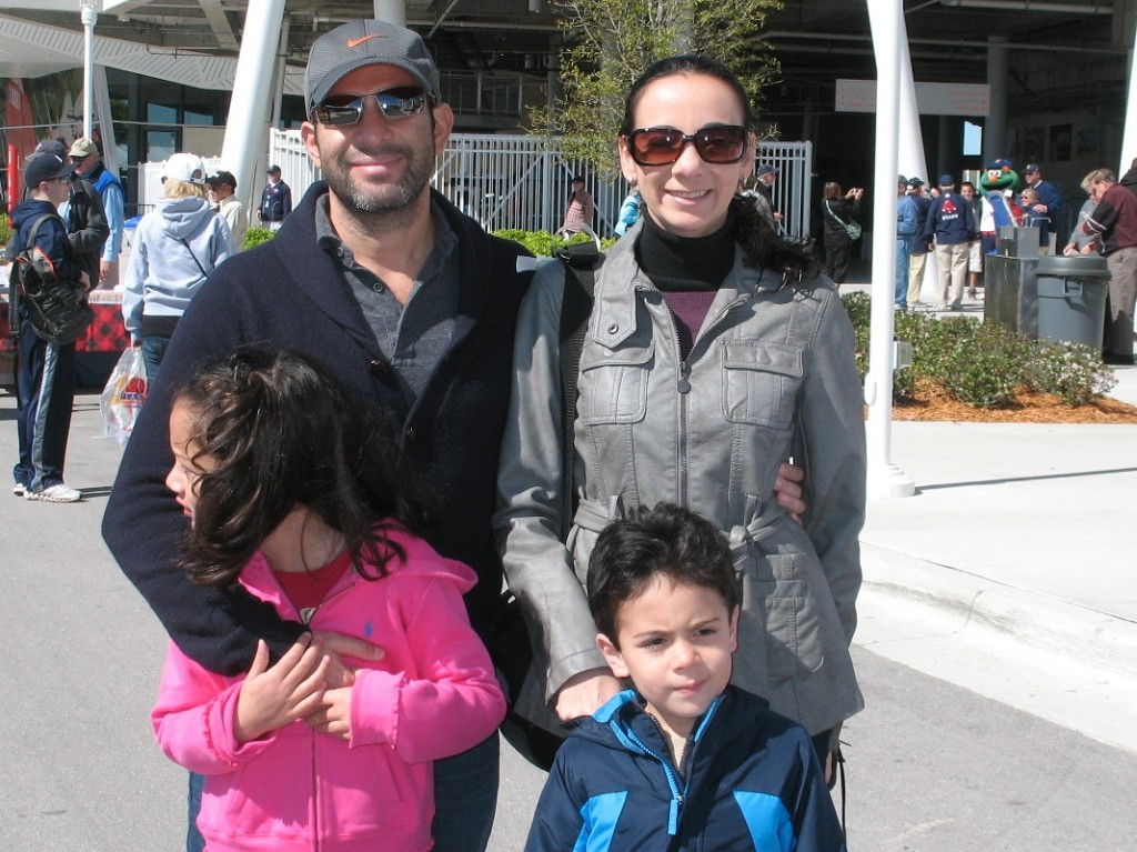 My family enjoying the day at Jetblue Park. Photo: Debra Lynne