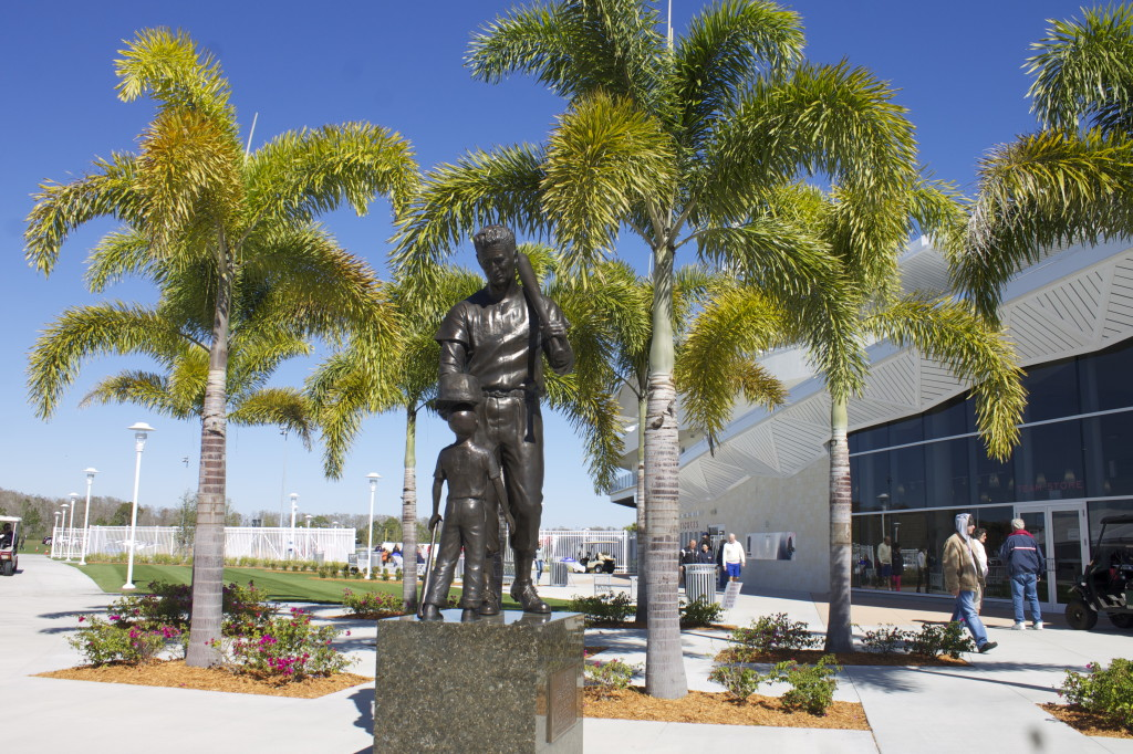 JetBlue Park sculpture. Photo: Paula Bendfeldt-Diaz all rights reserved.