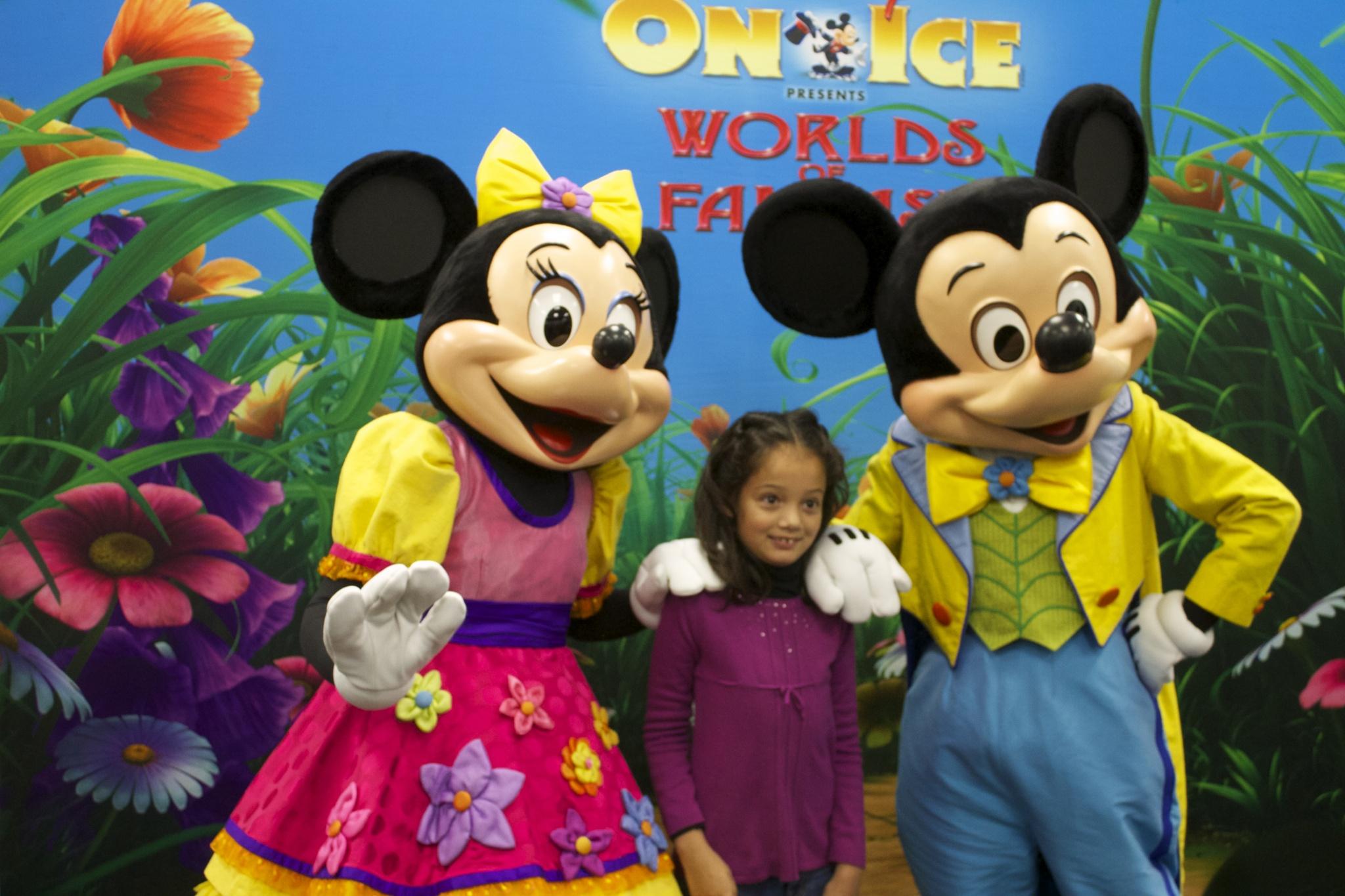 Disney on Ice Mickey and Minnie