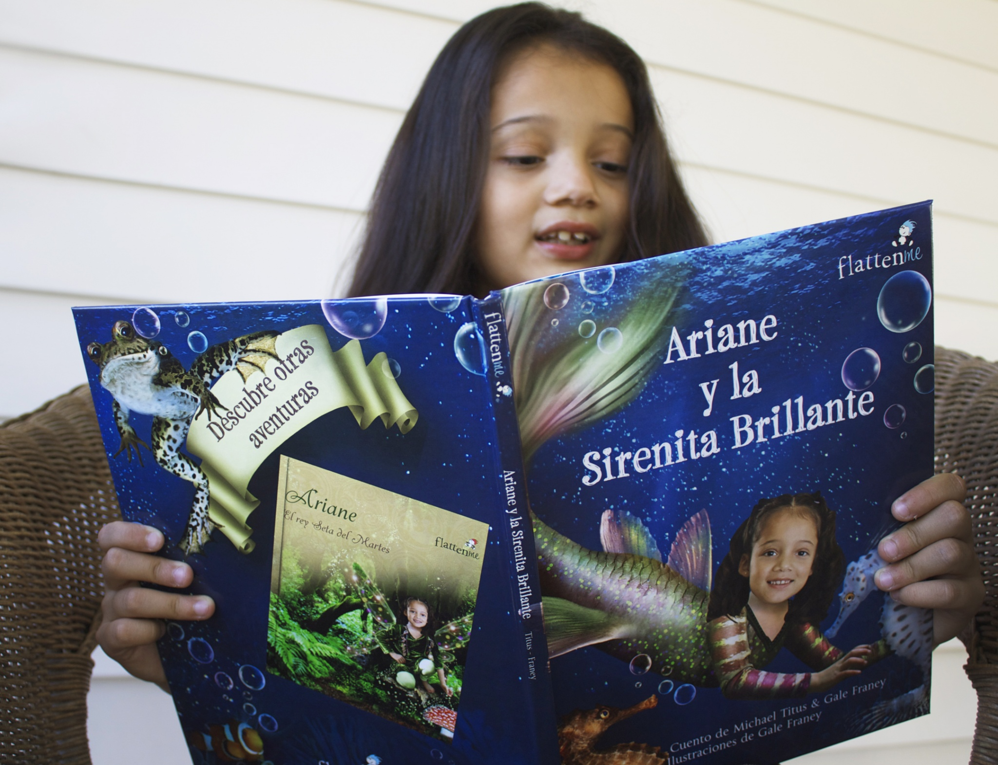 Flattenme Personalized books Spanish