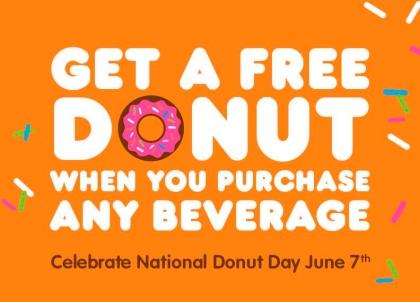 Free Donut Donut Day