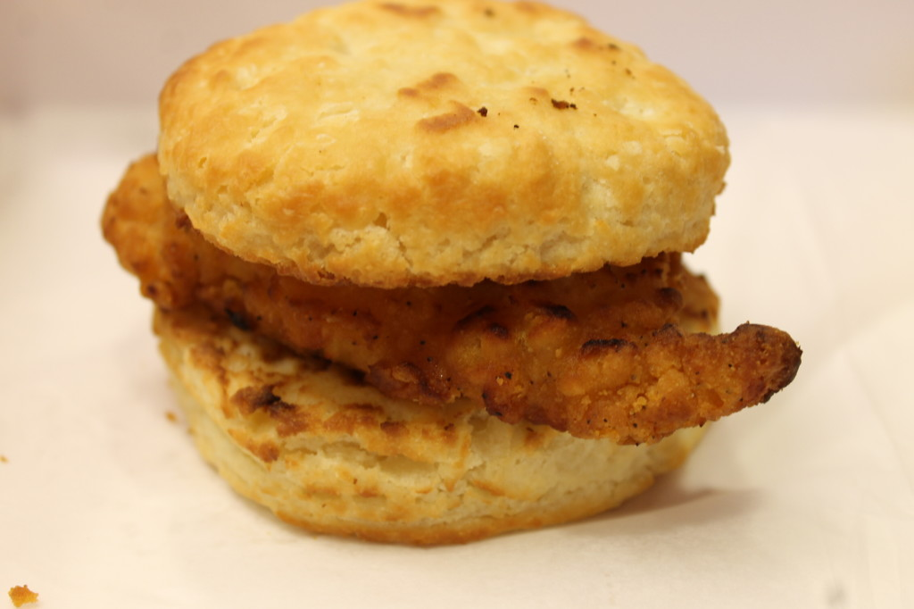 Chicken Biscuit Sandwich