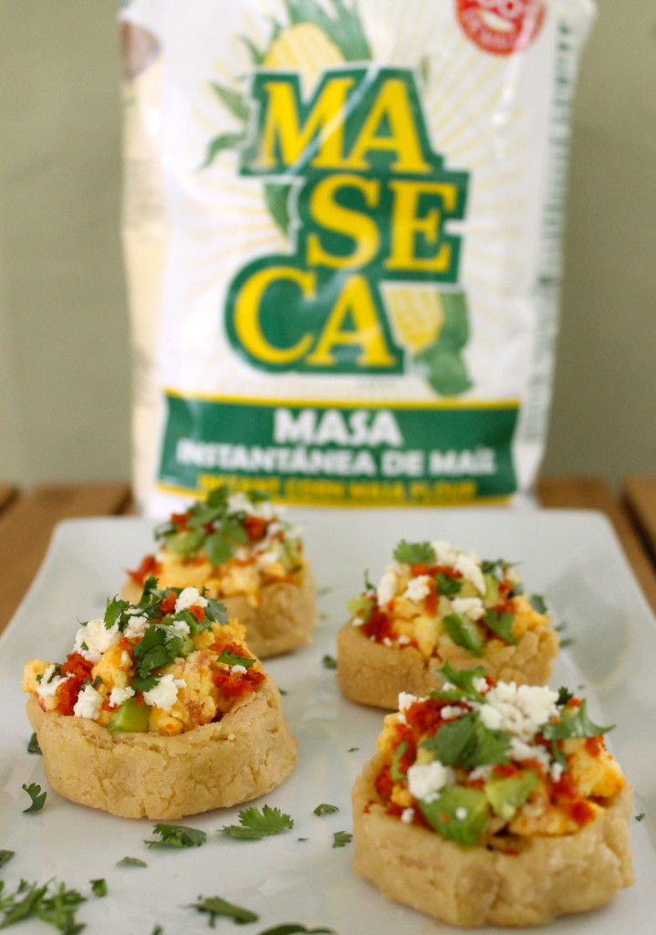 breakfast sopes with Maseca