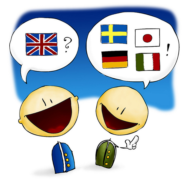 speaking languages multilingual versus monolingual