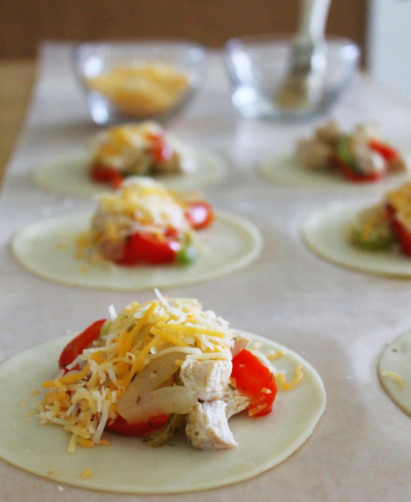 Quick And Easy Chicken Fajita Empanadas Growing Up Bilingual