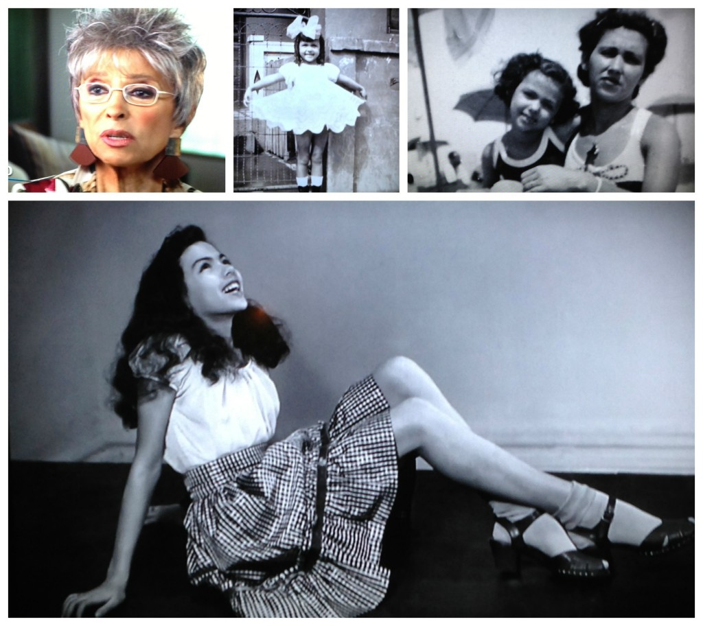 Rita Moreno as a child and teenager
