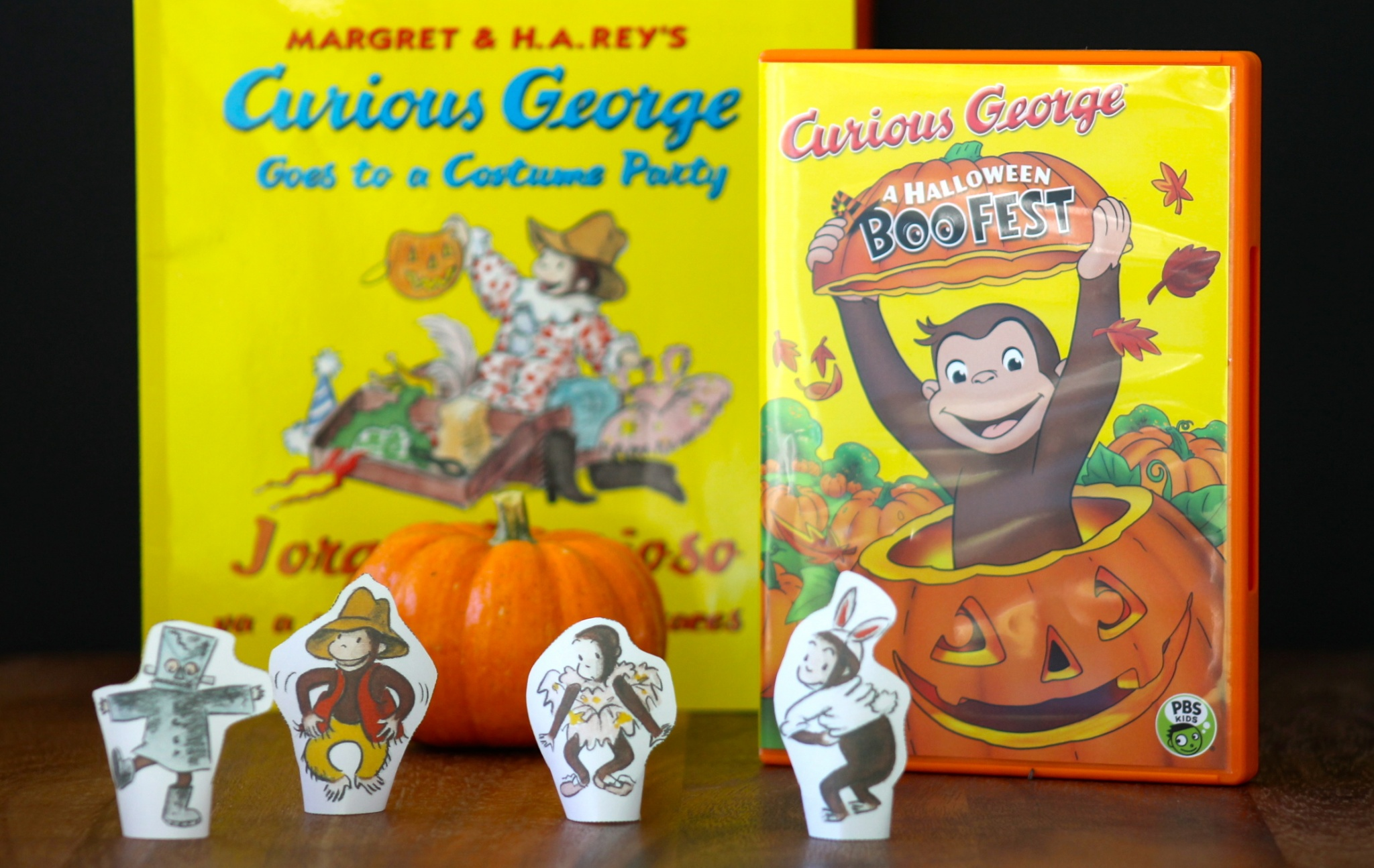 curious george halloween boo fest coming to pbs growing up bilingual