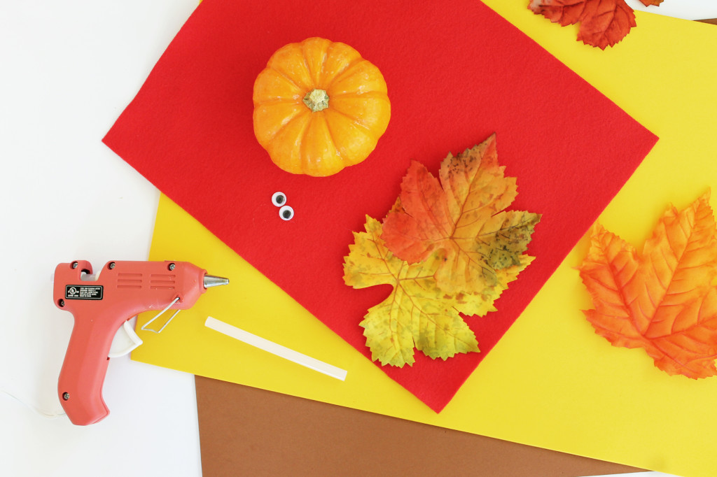 pumpkin turkey craft for kids