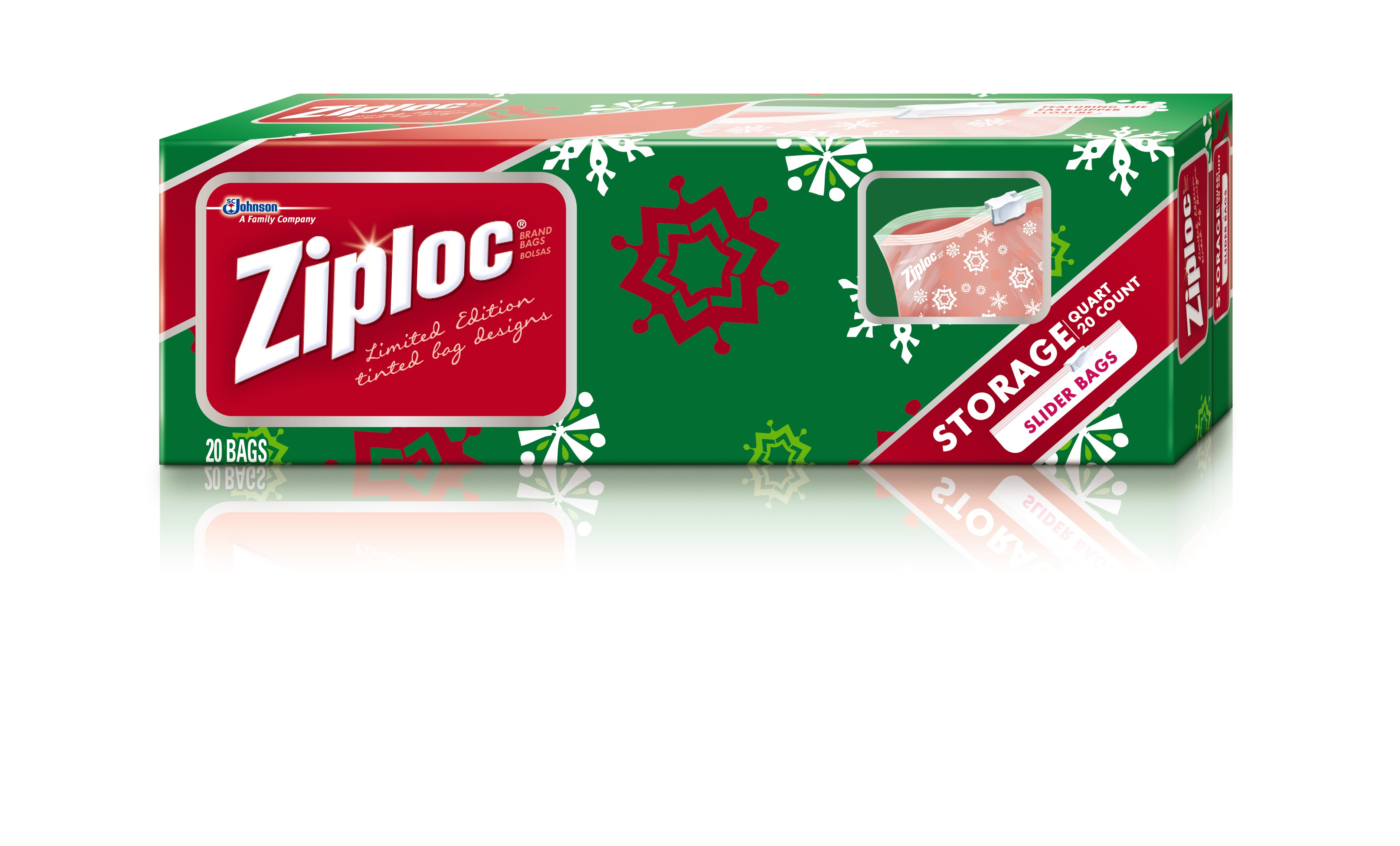 cheer and wonderful memories with ziplock and