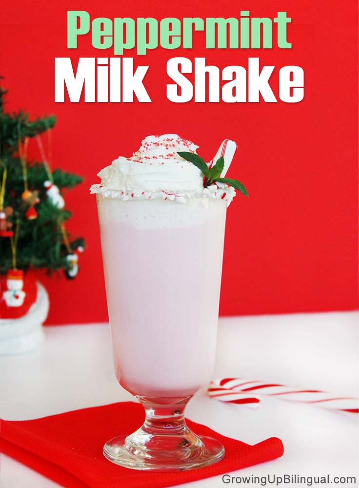 Peppermint Milk Shake