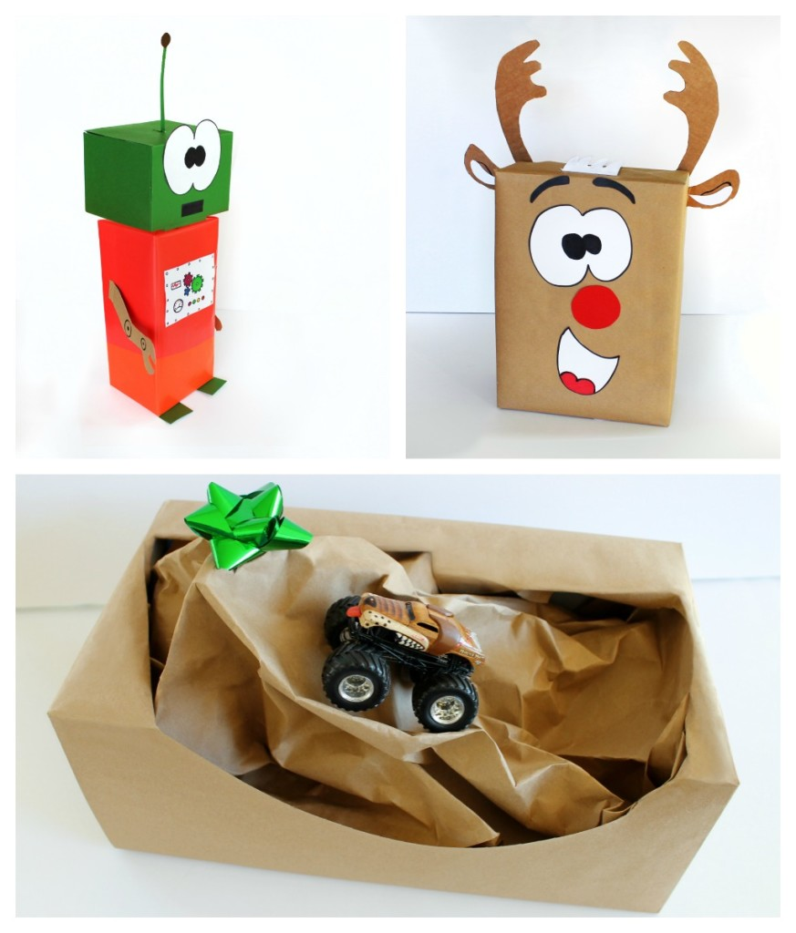 Creative gift wrapping ideas for kid 39 s presents growing for Unique ideas for christmas gifts