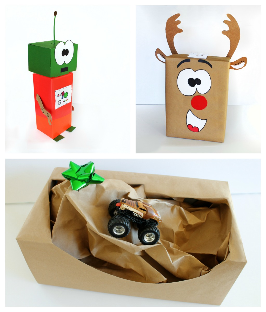 Creative gift wrapping ideas for kid 39 s presents growing for Creative christmas ideas