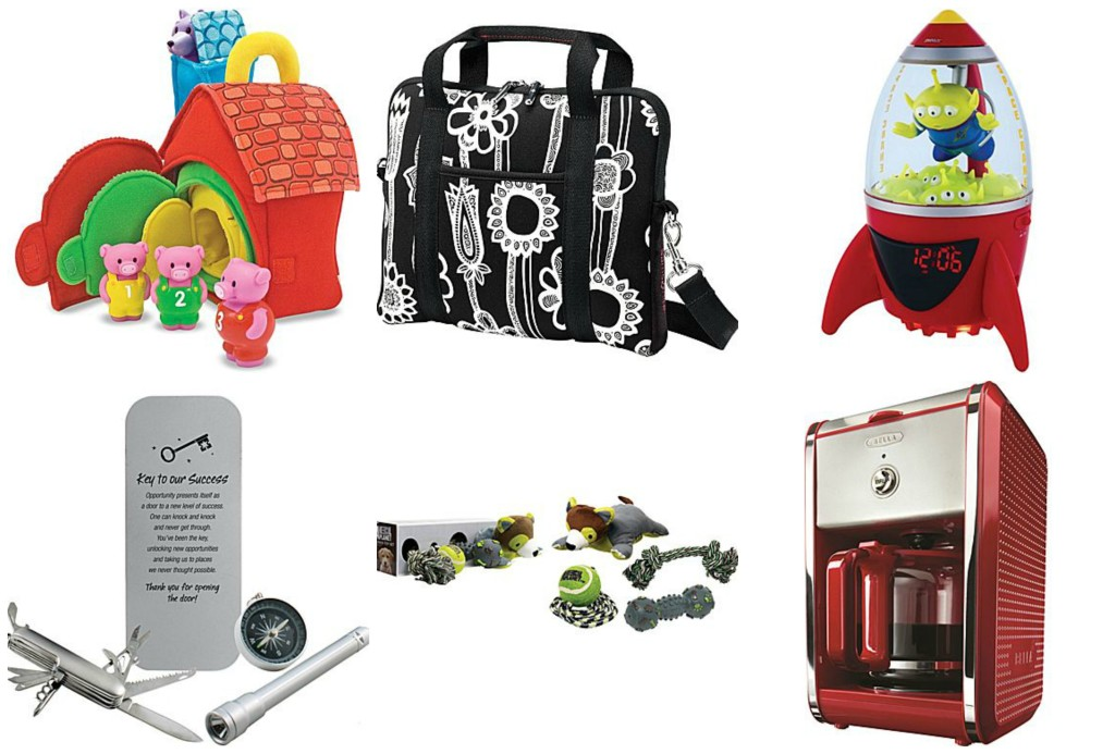 Great gifts fro everyone in your list from teachers and coworkers to kids and pets.
