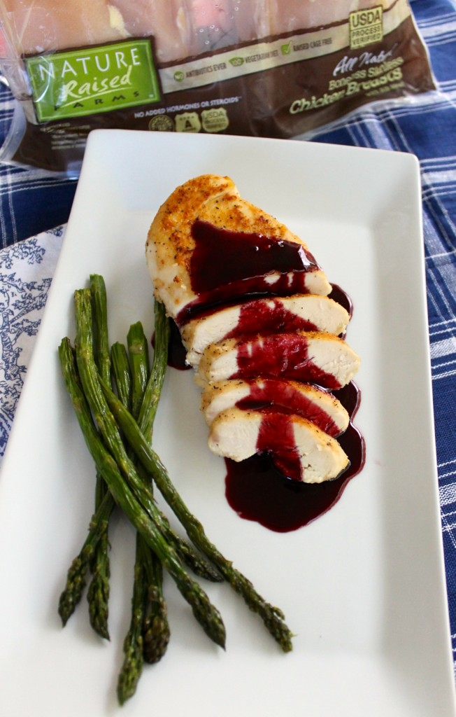 Nature raised chicken with rosa de jamaica sauce hibiscus #shop
