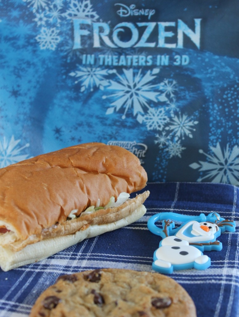 FROZEN Subway kids meal #shop
