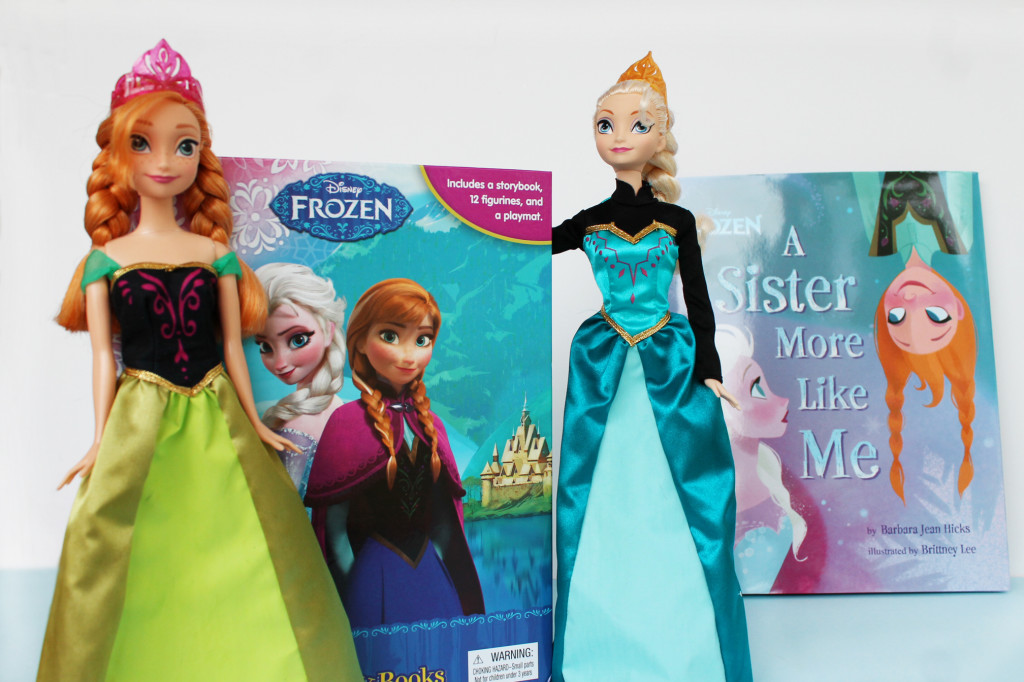 FROZEN toys and books at Walmart #shop