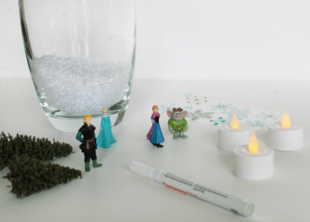 materials for FROZEN terrarium #shop