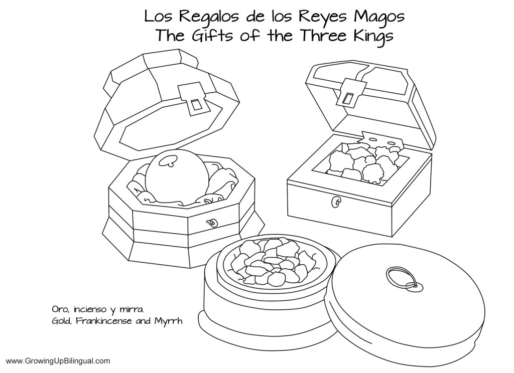 Día de Reyes Traditions Coloring Pages - Printable - Growing Up ...