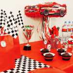 race car party printables ideas decor treat table