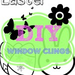Clipart Window clings Easter