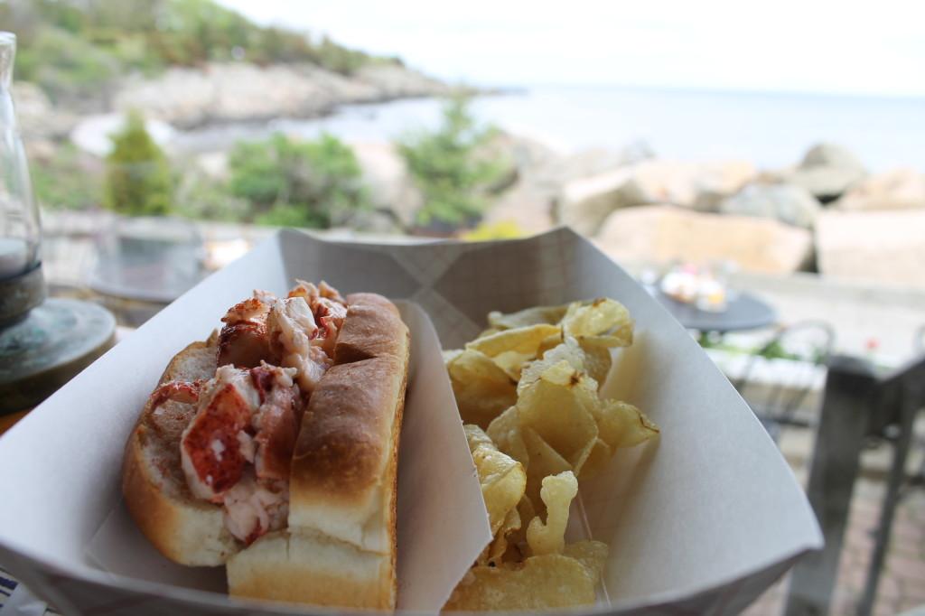 Ogunquit Maine Marginal Way Lobster Roll