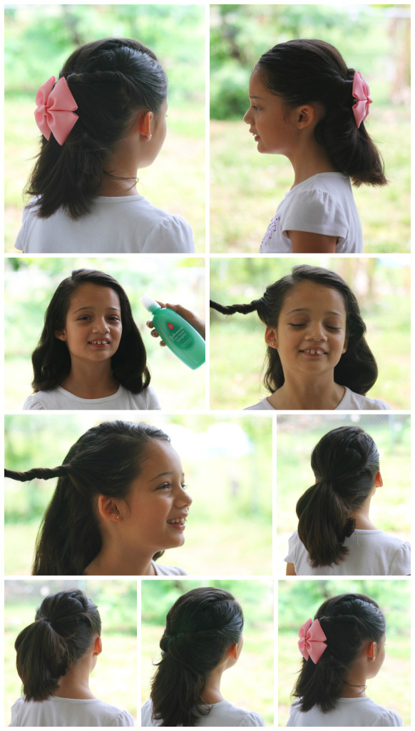 Easy and quick hair do for girls