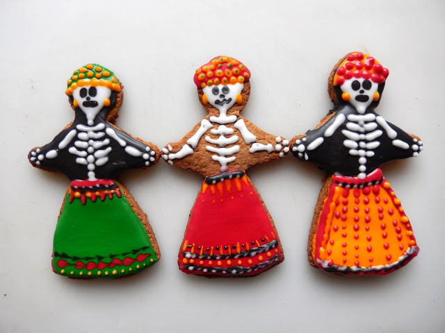 Day of the Dead Catrina Cookies Recipe