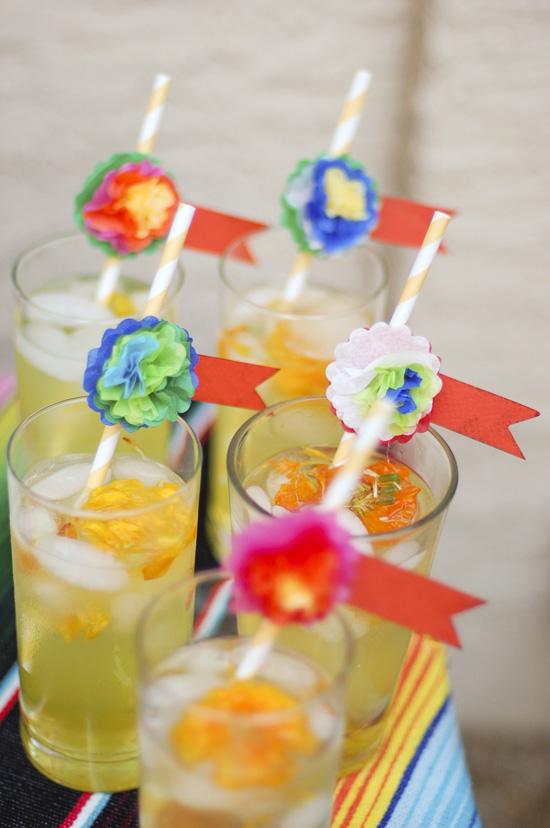 Marigold Muerte Drink recipe for Dia de los Muertos