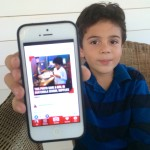 Teaching kids to give back with Donate a Photo app from Johnson & Johnson.