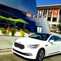 Sight seeing in LA with the Kia K900