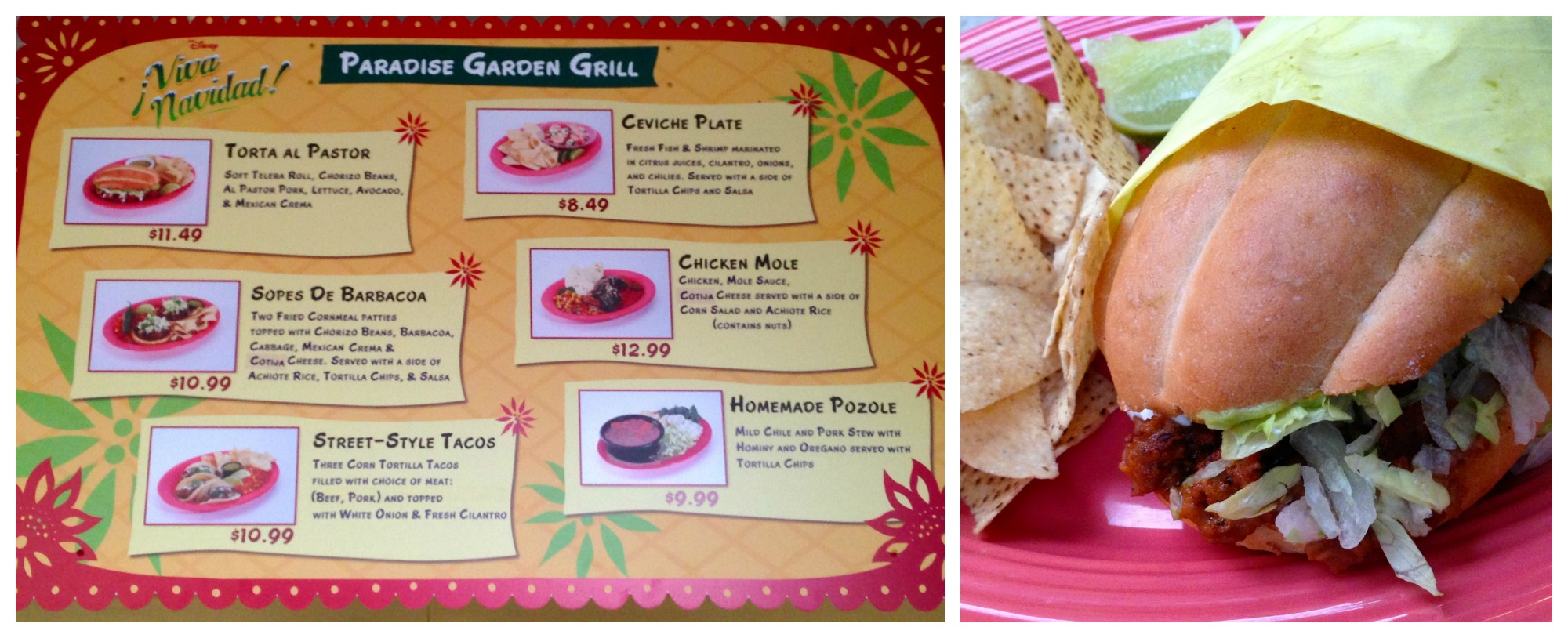 Viva Navidad Mexican food
