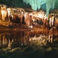dream lake at Luray caverns