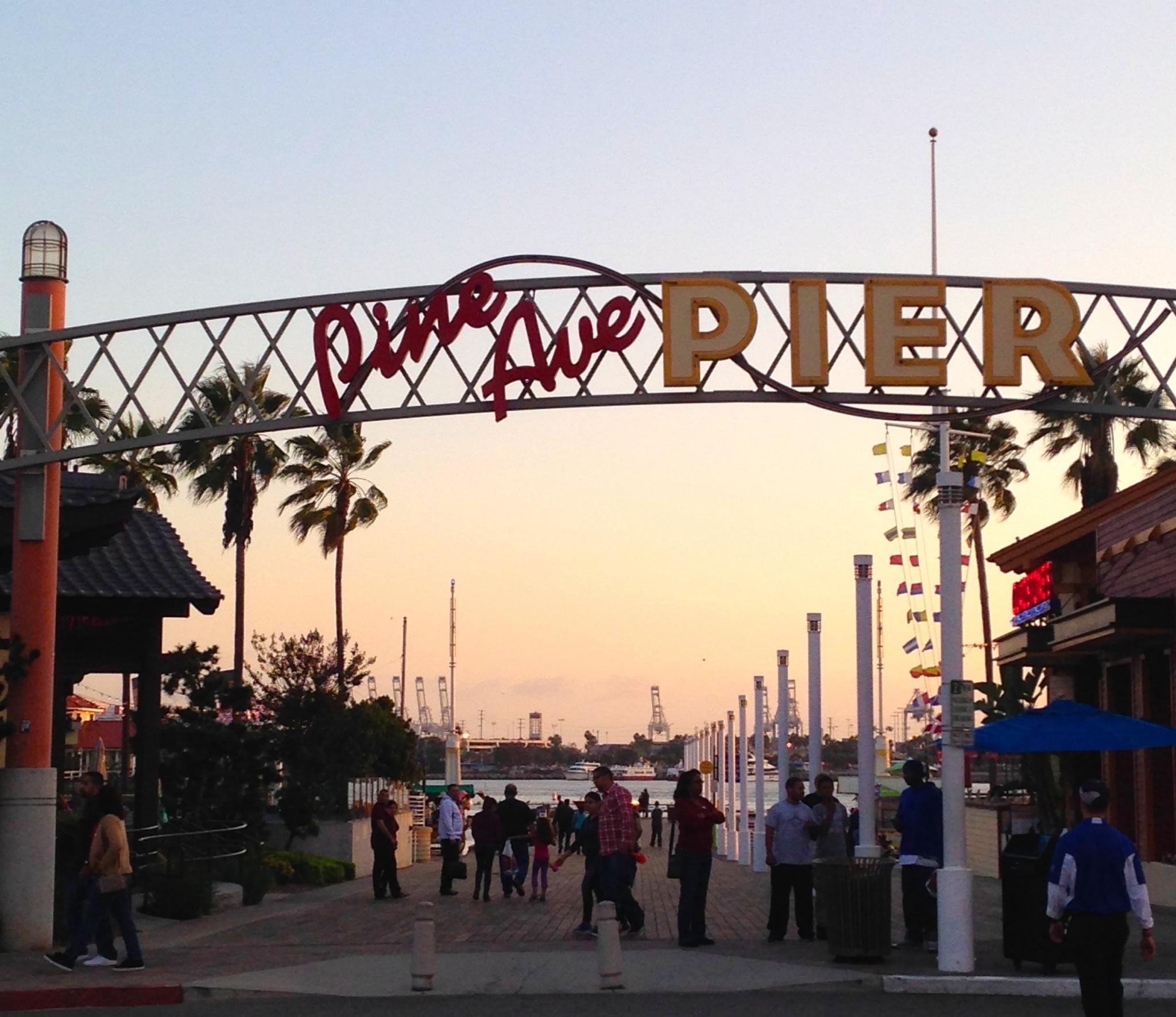 Pine Ave Pier Long Beach California