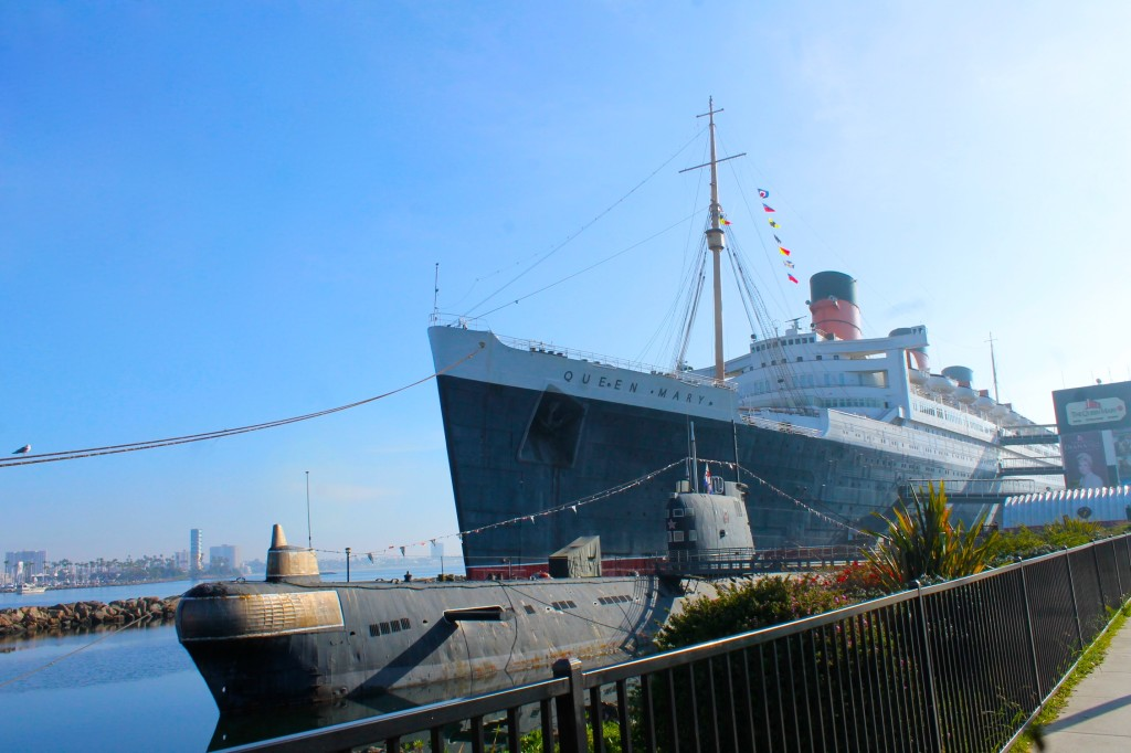 Queen Mary in Long Beach