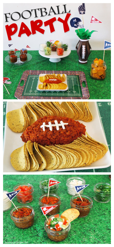 Football party ideas and free printables!