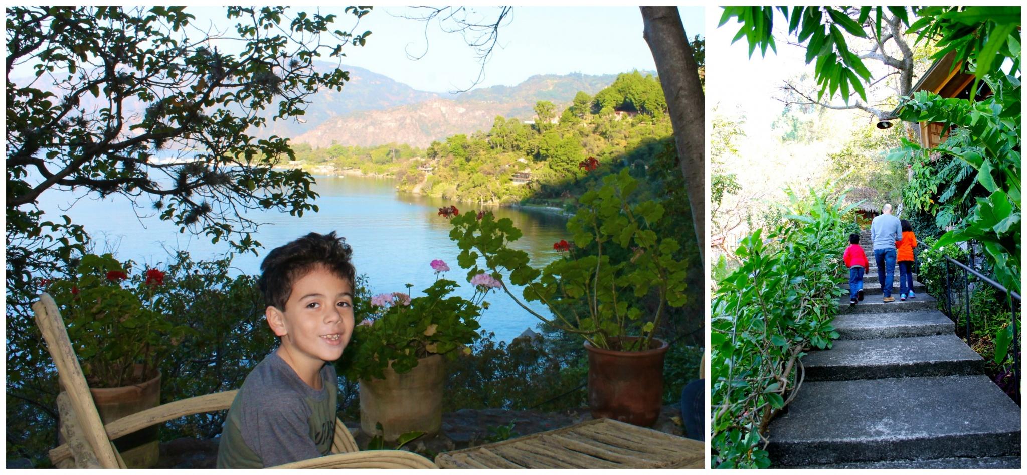 Gardens at Villas de B'alam Ya, Atitlan, Guatemala