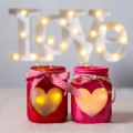 hear jars easy Valentines craft