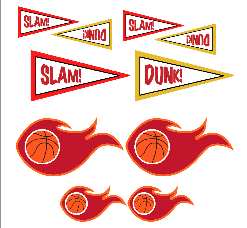 Free Basketball party printables