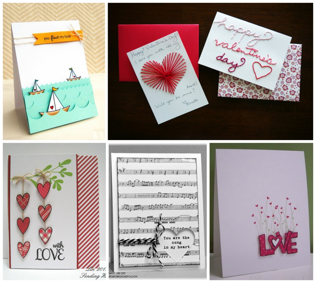 Easy Valentines DIY card ideas