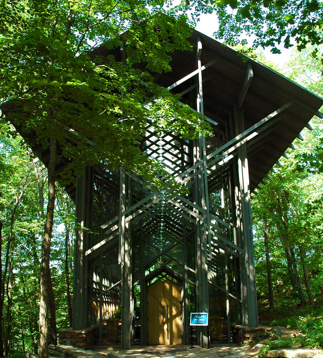 Thorncrown Chapel Eureka Springs