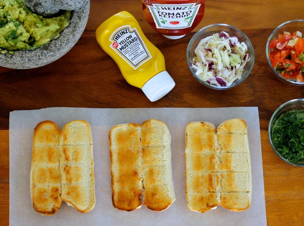shucos Guatemalan hot dogs recipe