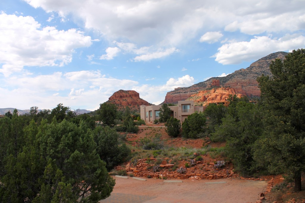 Alma de Sedona view from the room.