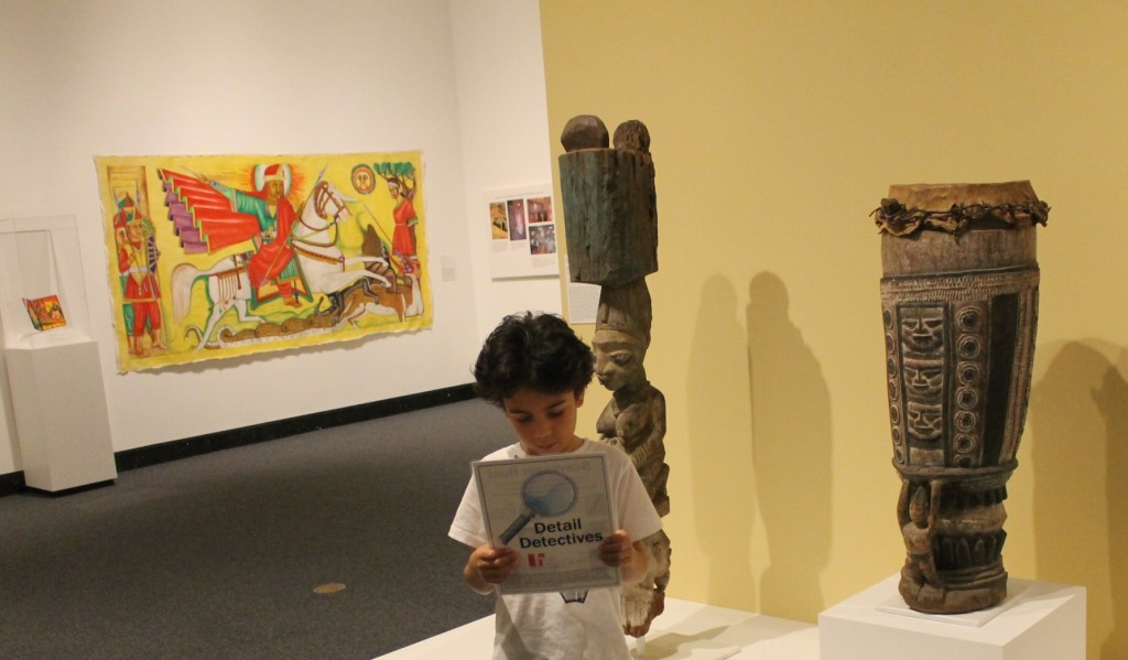 scavenger hunt at the Harn Museum of Art Gainesville