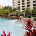 pool area at the Hyatt Regency Orlando